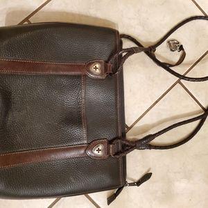 Brighton leather purse brown